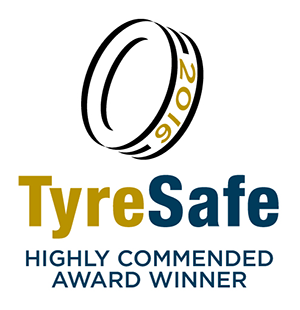 Merityre Specialists were awarded the Highly Commended Award by TyreSafe in 2016
