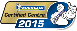 Merityre Specialists were named Michelin Certified Centres in 2015