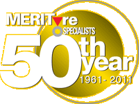 Fiftey years of Merityre Specialists 1961 - 2011