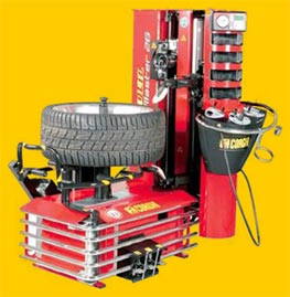Merityre tyre specialists tyre fitting machine